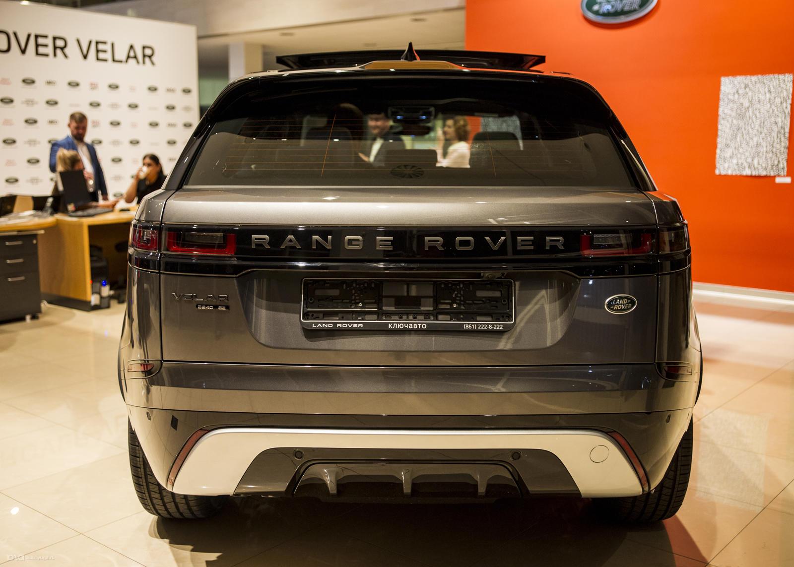 Экстерьер Range Rover Velar