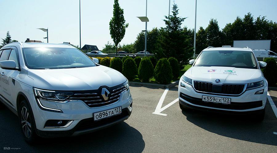 Коллеги по цеху: Renault Koleos и Skoda Kodiaq