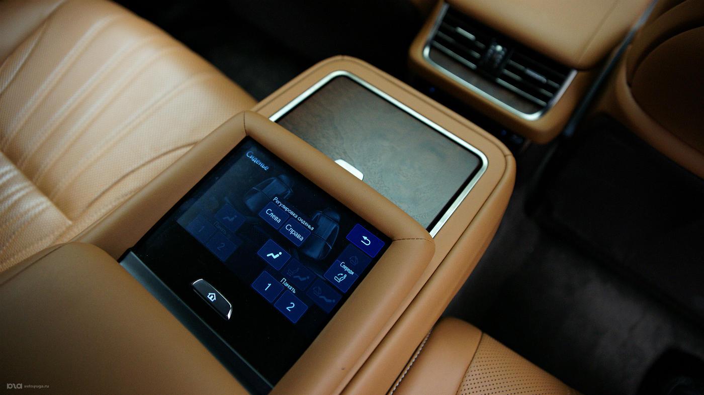 Новый Lexus LS. Салон