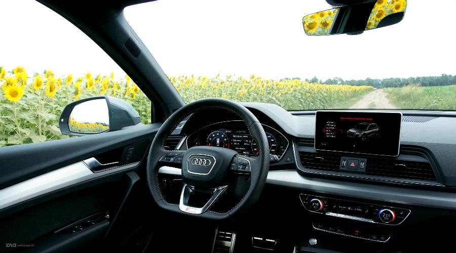 Салон нового Audi Q5