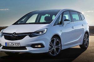 Opel Zafira ©Фото Opel.de