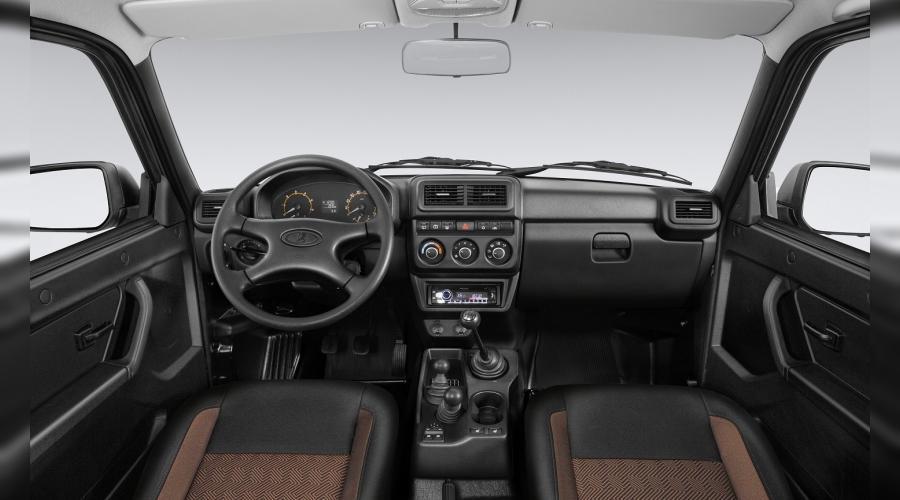 Новый салон Lada 4x4 ©Фото АвтоВАЗ