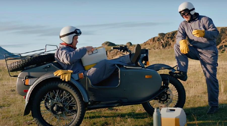 Новый «Урал» ©Скриншот видео Ural Motorcycles