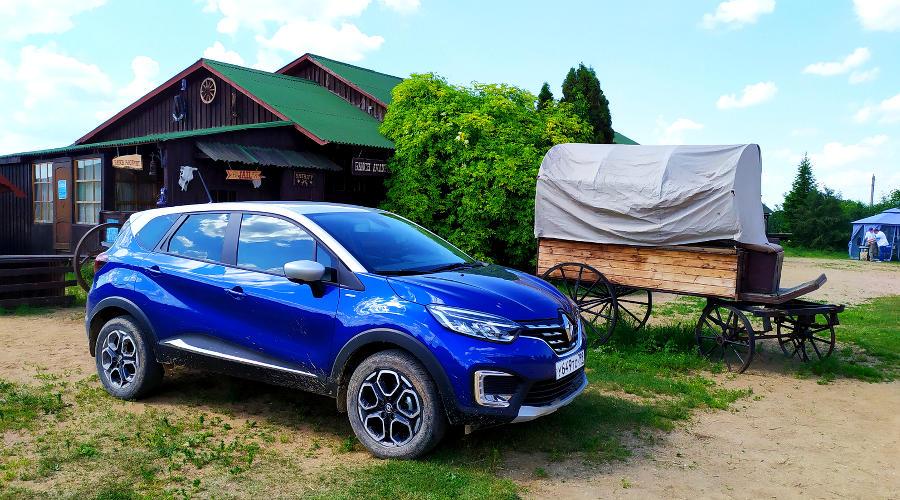 Новый Renault Kaptur ©Фото Евгения Мельченко, Юга.ру