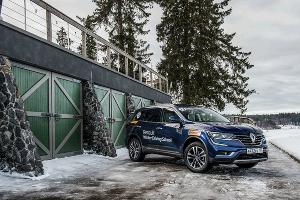 Тест-драйв нового Renault Koleos ©Фото ЮГА.ру