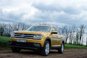 Тест-драйв Volkswagen Teramont ©Фото Евгения Мельченко, Юга.ру