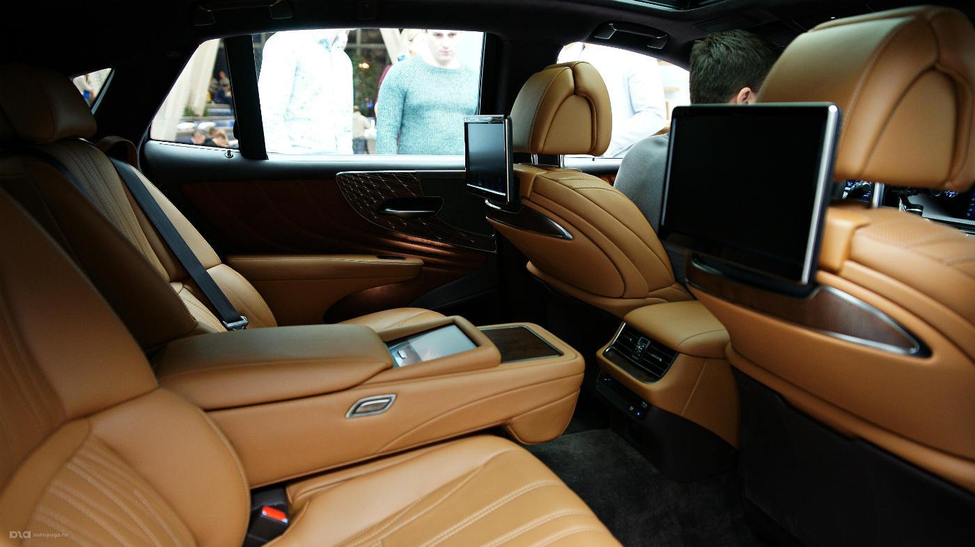 Новый Lexus LS в России получил ценник в 5млн 539тыс. рублей. Старт продаж совсем скоро