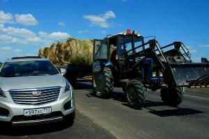 Новый Cadillac XT5 ©Фото Евгения Мельченко, Юга.ру