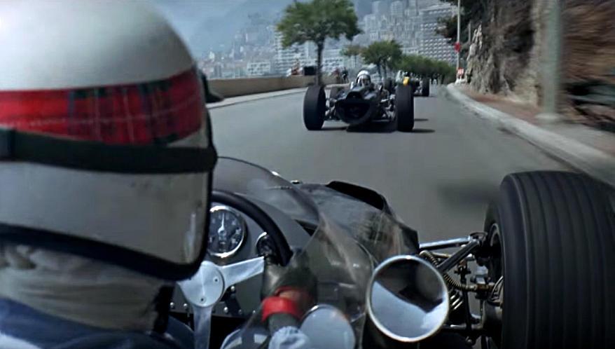 Кадр из фильма «Гран-при». Реж.: Дж. Франкенхаймер. 1966 год