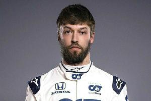 Даниил Квят ©Фото из официального аккаунта F1 в Instagram