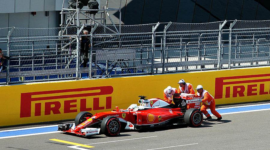 Роман Феттеля с Ferrari так и не сложился