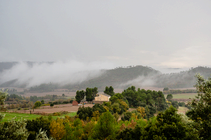 Kodiaq в Каталонии. Дождь ©Фото Евгения Мельченко, Юга.ру