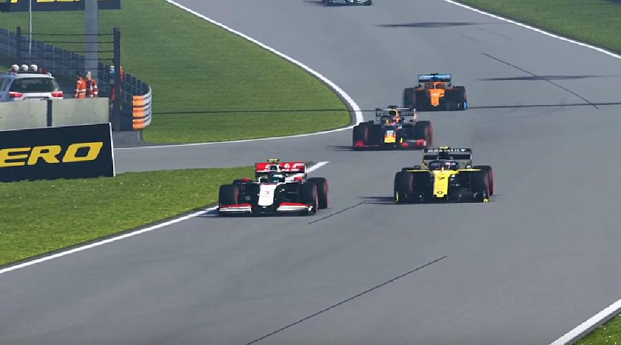 Виртуальная «Формула-1» ©Скриншот игры «F1 2019»