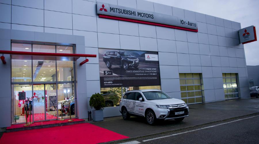 Открытие нового дилерского центра Mitsubishi от «Юг-Авто» ©Фото Евгения Мельченко, Юга.ру