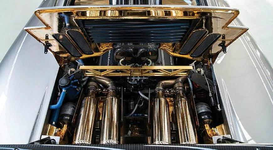 Золотой двигатель McLaren F1