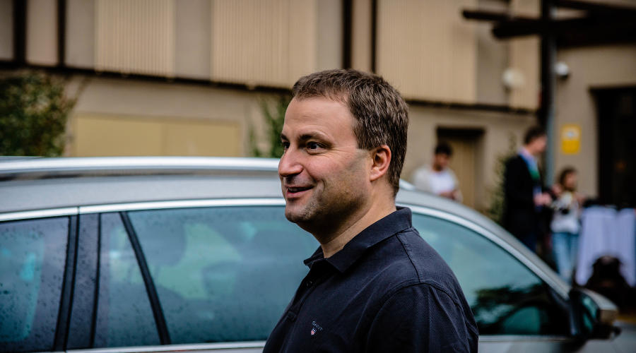 Ян Прохазка. Руководитель Skoda в России ©Фото Евгения Мельченко, Юга.ру