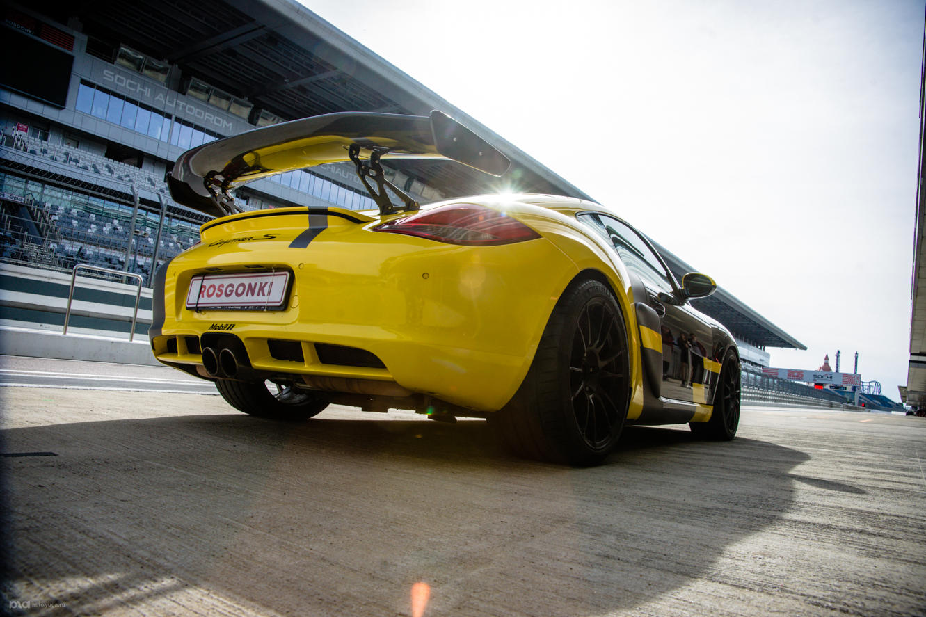 Porsche Cayman S. «Сочи Автодром»