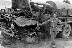 Как правило, тяжелые грузовики принимали удар минных зарядов на себя ©Фото ok.ru (Группа памяти войны в Афганистане)