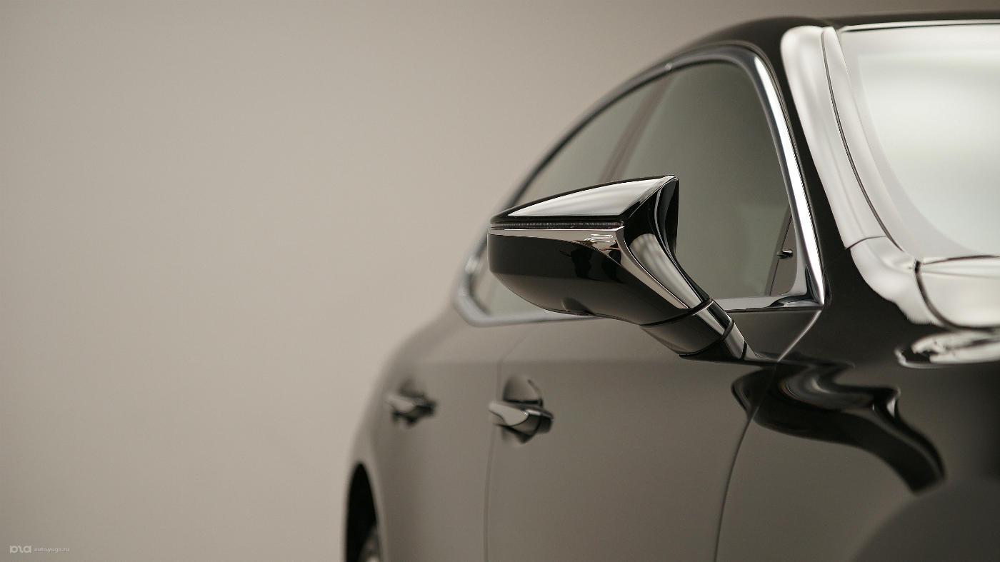 Новый Lexus LS. Дизайн