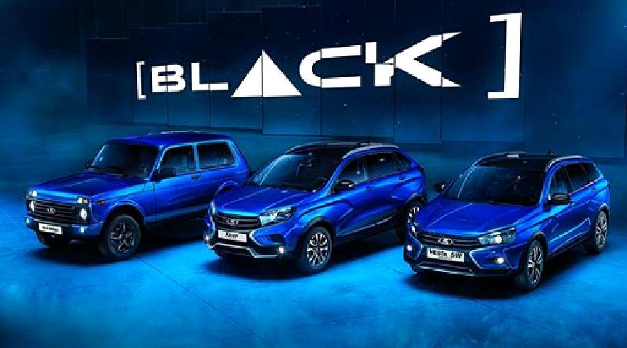 Lada Black ©Фото АвтоВАЗ