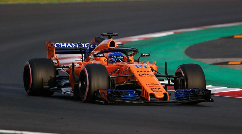 Традиционные цвета McLaren в предстоящем сезоне, несомненно, разбавят палитру