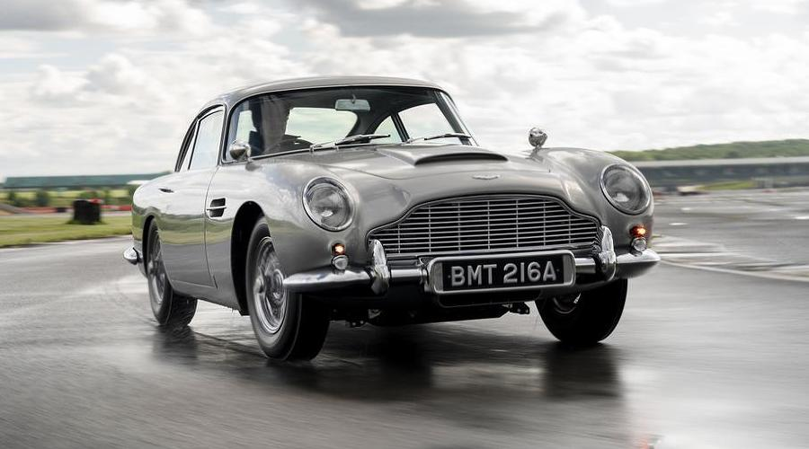 Aston Martin DB5 ©Скриншот из фильма Goldfinger