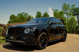 Кроссовер Bentley Bentayga ©Фото Евгения Мельченко, Юга.ру