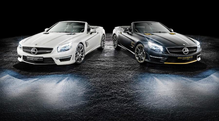 Mercedes-Benz SL63 AMG посвященные победе заводской команды «Формулы-1» в Кубке конструкторов