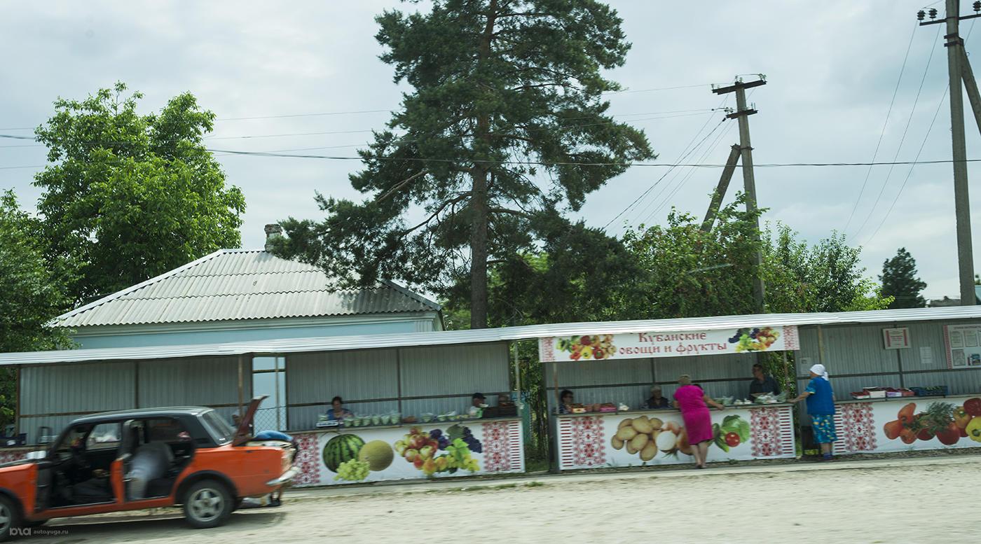 Мини-ярмарки по пути — отличное место пополнить запасы свежей провизии. Не стоит брезговать и придорожными кафе, особенно если возле них присутствуют дальнобойщики. Это показатель качества