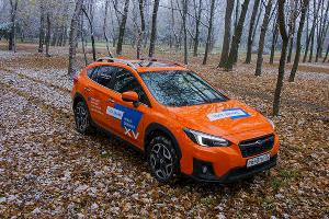 Новое поколение Subaru XV ©Фото Евгения Мельченко, Юга.ру
