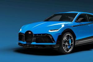 Кроссовер Bugatti ©Фото carmagazine.co.uk