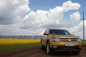 Новый Volkswagen Teramont ©Фото Евгения Мельченко, Юга.ру