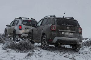Новый и предыдущий Renault Duster ©Фото Евгения Мельченко