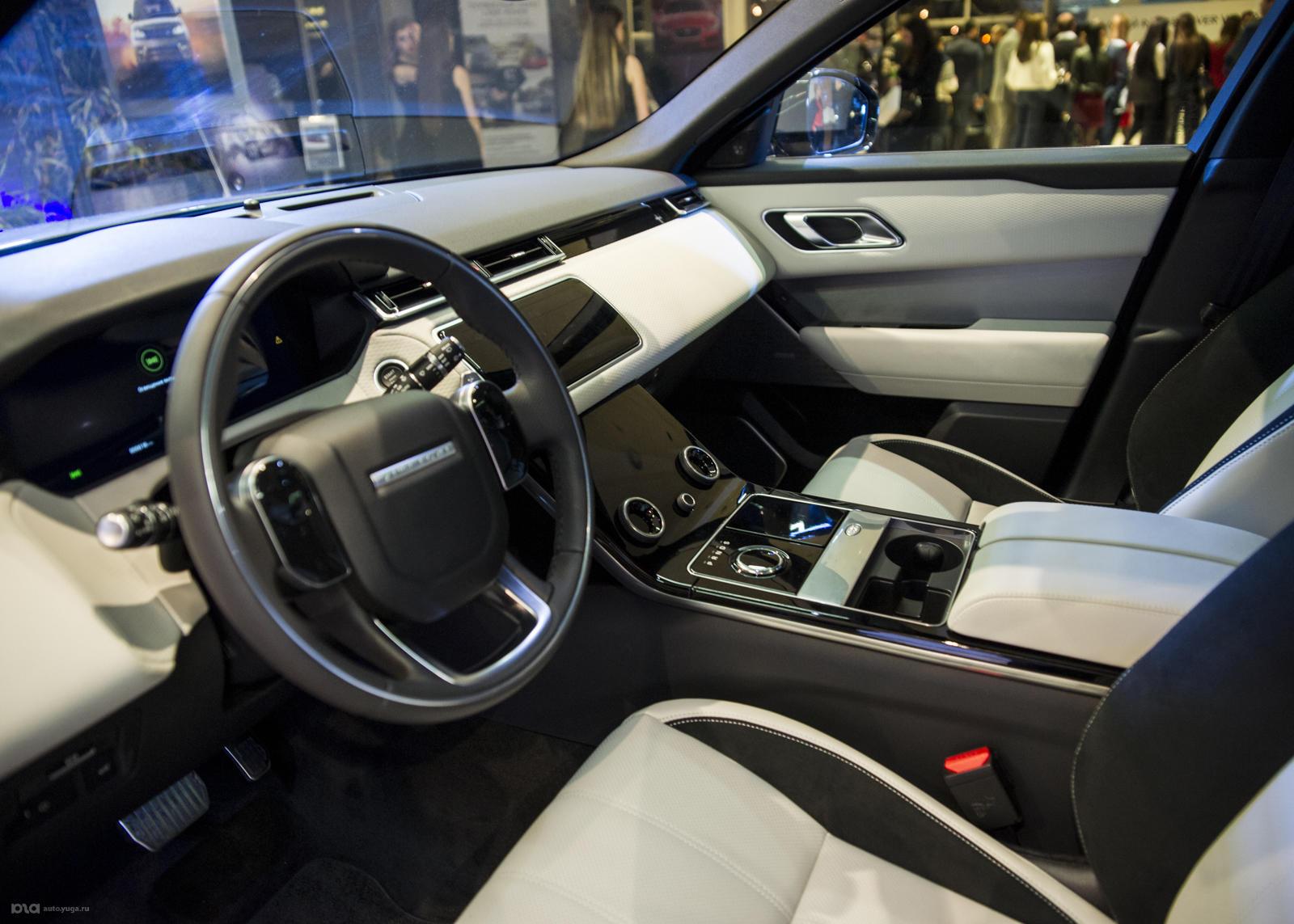 Салон Range Rover Velar