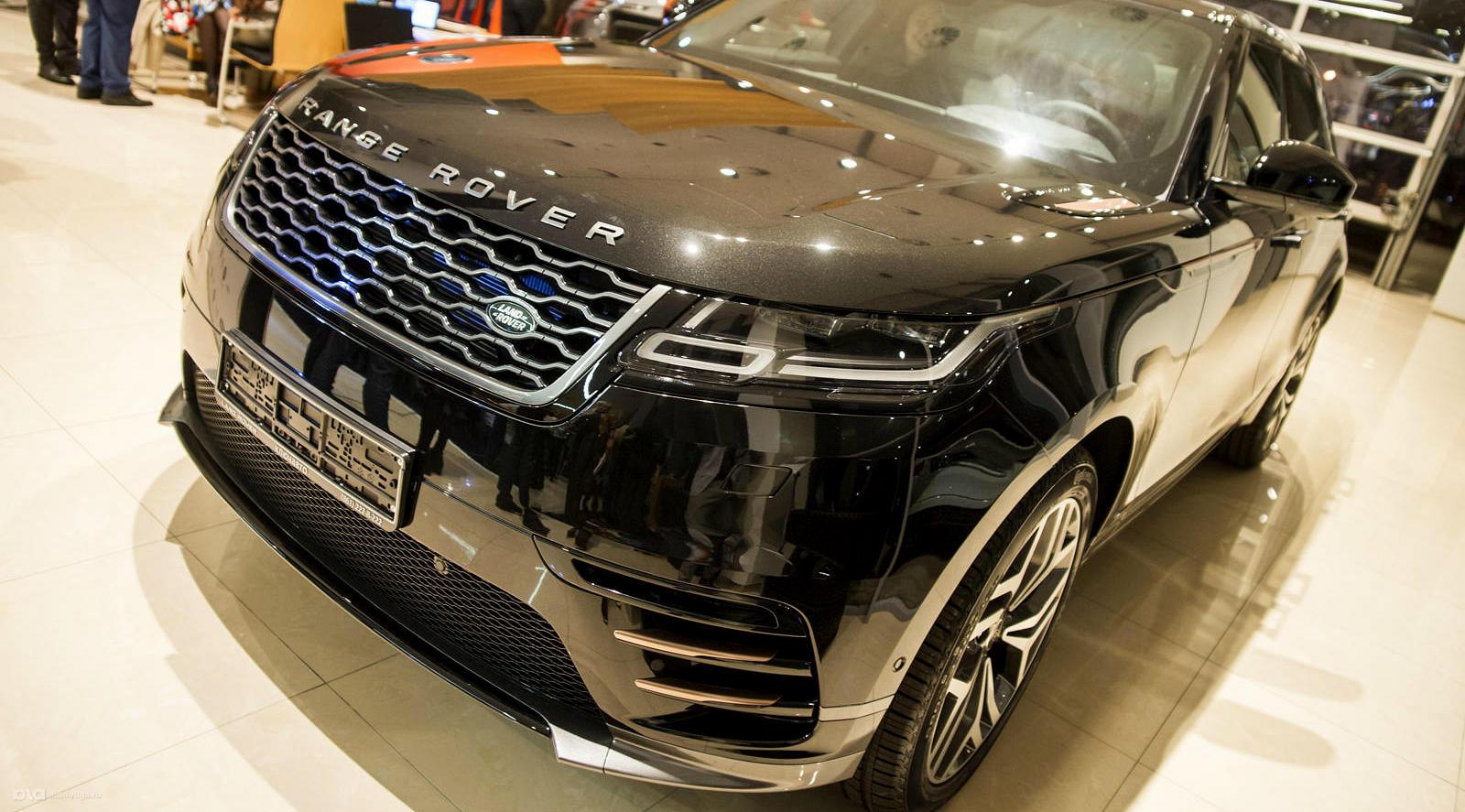 Range Rover Velar. Гламур и внедорожье