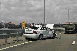 Дорожно-транспортное происшествие ©Фото Евгения Мельченко, Юга.ру