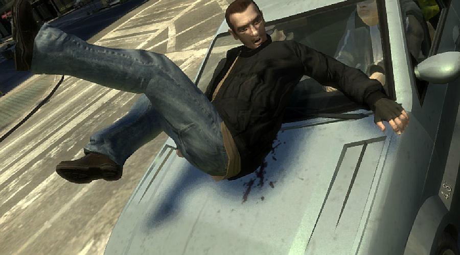 Автоподставы ©Фото скриншот игры GTA