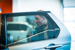 """Премьерный показ совершенно нового DISCOVERY SPORT в """"Юг-Авто"""" ©Елена Синеок, ЮГА.ру"""