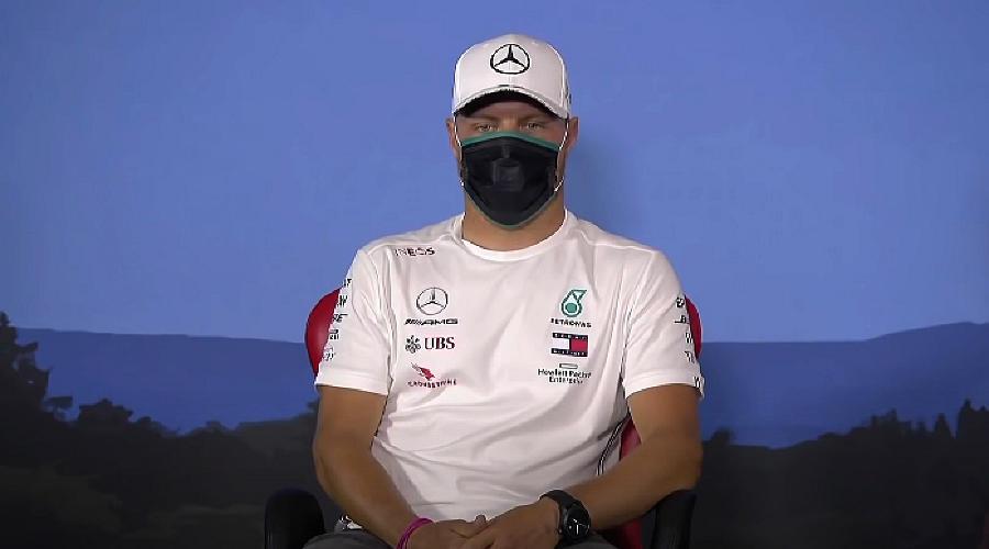 Вальттери Боттас ©Скриншот трансляции F1