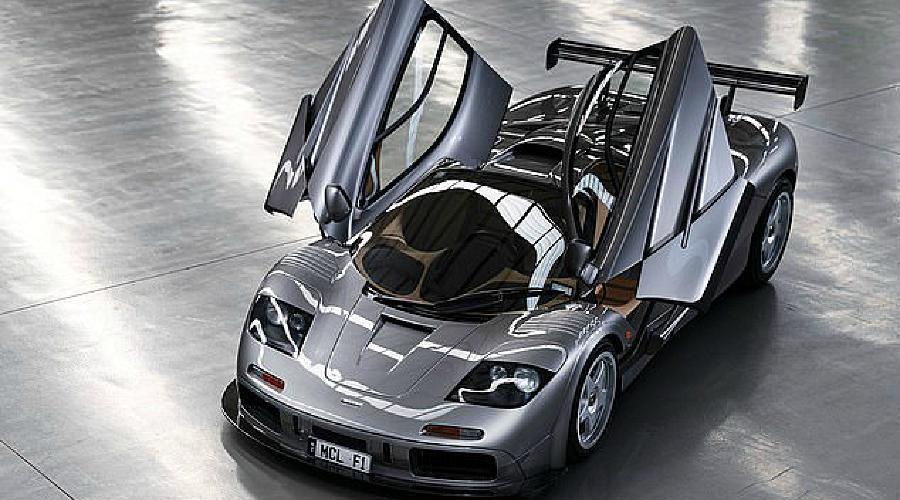 McLaren F1 с золотым мотором ©Фото RMSothebys/BNPS