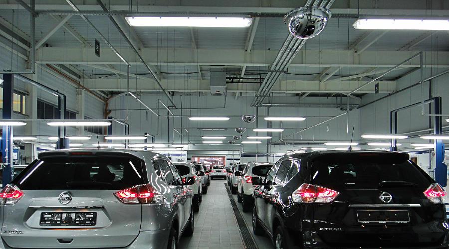 Японский автопроизводитель Nissan ©Фото Евгения Мельченко, Юга.ру