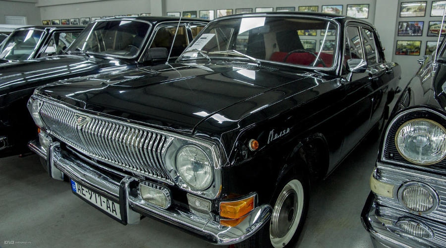 ГАЗ-24 в музее советских автомобилей. Тбилиси, ул. Каиро, 97 ©Фото Евгения Мельченко, Юга.ру