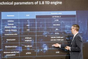 Презентация мотора Geely 1,8 TD ©Фото Евгения Мельченко, Юга.ру