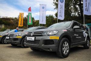 Volkswagen Driving Experience. Проверка на прочность ©Фото ЮГА.ру