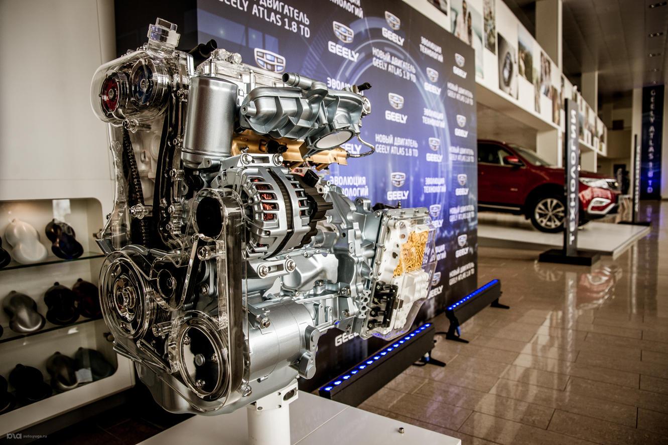 Новый мотор Geely 1,8 TD