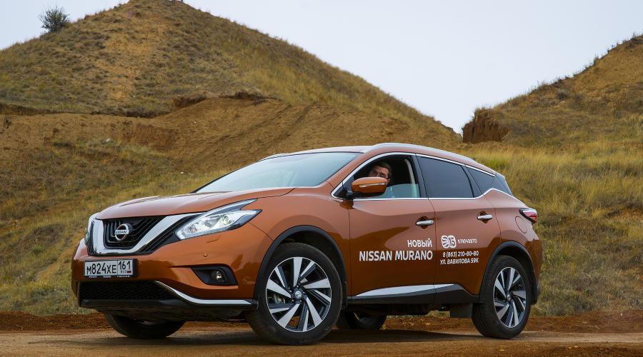 Nissan Murano нового поколения ©Фото Евгения Мельченко, Юга.ру