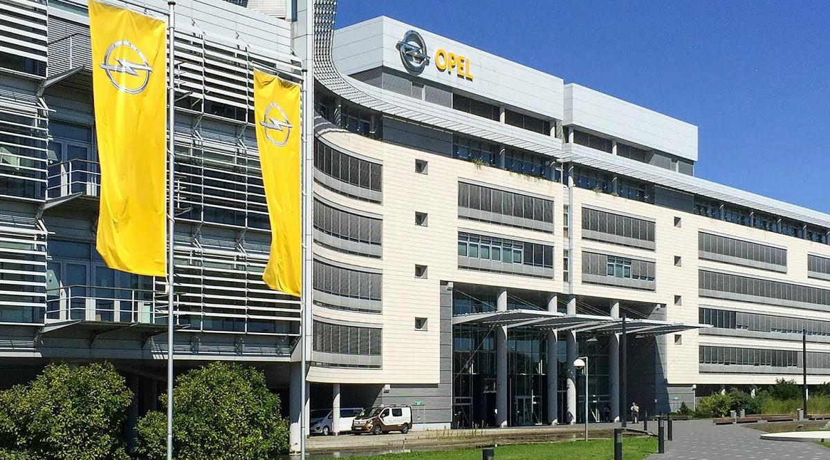 Штабквартира Opel в Рюссельсхайме