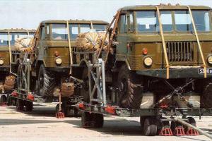 ГАЗ-66, десантный вариант ©Фото warbook.info