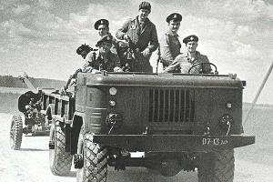 ГАЗ-66, десантный вариант ©Фото denisovets.ru