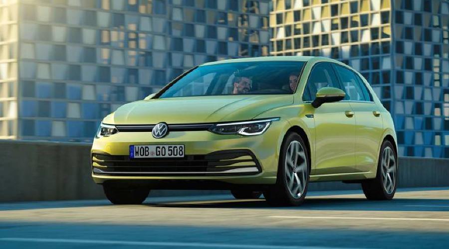 Новый Volkswagen Golf ©Фото Carscoops